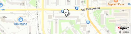 Аквавит на карте Миасса