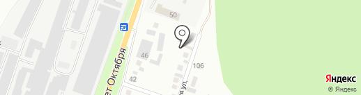 МиассВент на карте Миасса