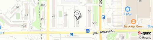 Аптека на карте Миасса
