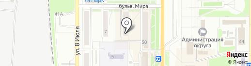 Добрый стоматолог на карте Миасса