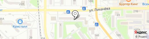 Аквавит, ЗАО на карте Миасса