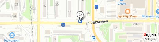 Быстроденьги на карте Миасса