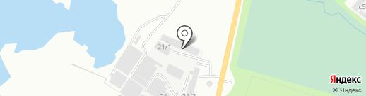 Столярно-строительная организация на карте Миасса