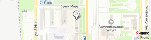 Кудесница на карте Миасса