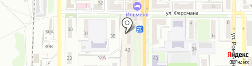 Фарммир на карте Миасса