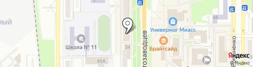 Магазин квартир на карте Миасса