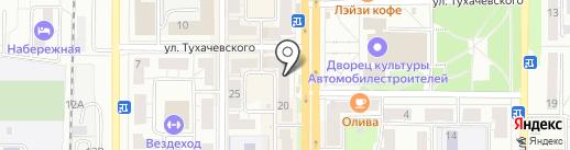 Банк ВТБ 24, ПАО на карте Миасса