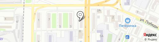 Эконом Аптека на карте Миасса