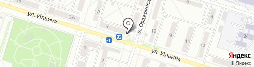 Магазин на карте Нижнего Тагила