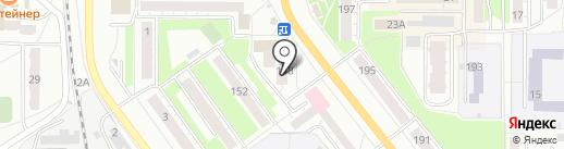 Кактус на карте Миасса