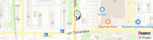 Магазин суши и роллов на карте Миасса