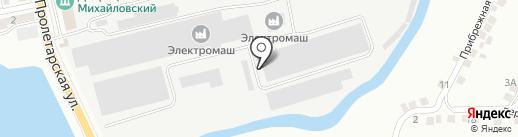 Аркада на карте Миасса