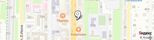 СОЮЗ, КПК на карте Миасса