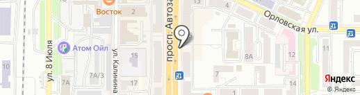 Экспресс-кафе на карте Миасса