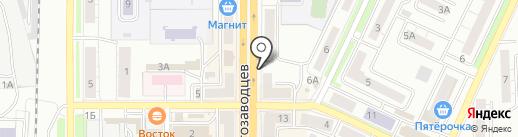 У Ильи на карте Миасса