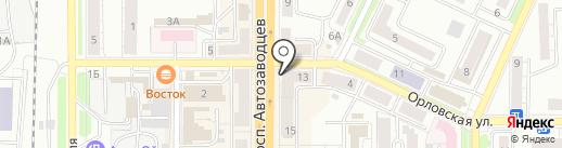 Ростелеком, ПАО на карте Миасса