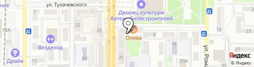 Олива на карте Миасса