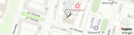 Сибирское Здоровье на карте Нижнего Тагила
