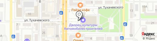 Независимый предприниматель Амвэй на карте Миасса