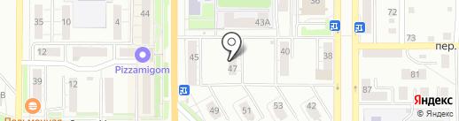 Нуга-Бест на карте Миасса
