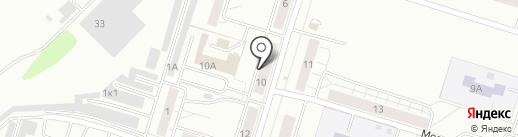 Подсолнух на карте Нижнего Тагила