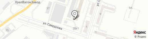 Смарт на карте Нижнего Тагила