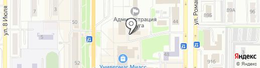 Гарант-Сервис на карте Миасса