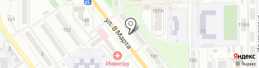 Детали на карте Миасса