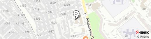 ШЕФ на карте Миасса