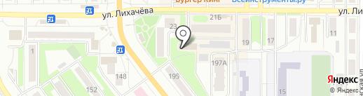 Государственная инспекция труда в Челябинской области на карте Миасса