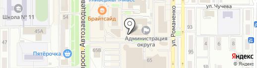 Сбербанк, ПАО на карте Миасса