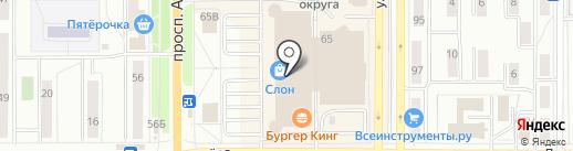 Магазин радиотоваров на карте Миасса