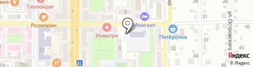 Детский сад №59 на карте Миасса