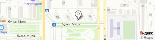Рекламное агентство на карте Миасса