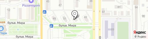 Авторадио на карте Миасса
