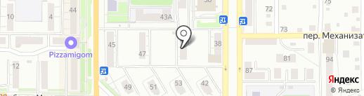 Адвокатский кабинет Мурасеевой И.Р. на карте Миасса