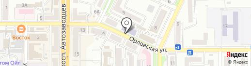 Банкомат, Уральский банк реконструкции и развития, ПАО на карте Миасса