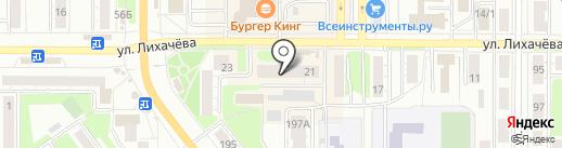 Магазин товаров для дома на карте Миасса