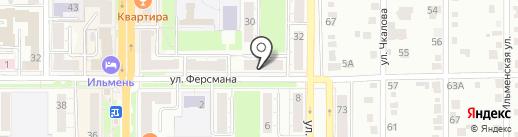 Централизованная Библиотечная Система на карте Миасса