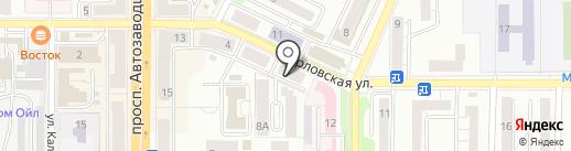 Чистый дом на карте Миасса