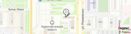 Почта банк, ПАО на карте Миасса