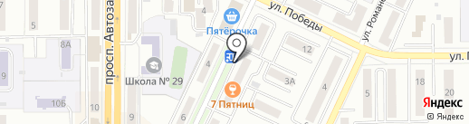 Легенда Урала на карте Миасса