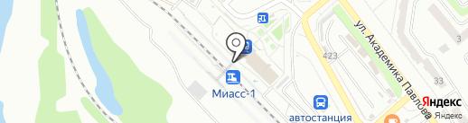 Роспечать на карте Миасса