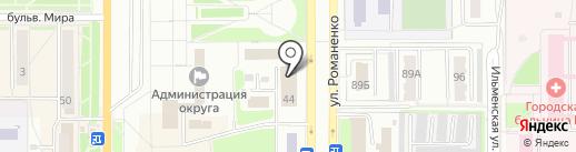EMS Russian Post на карте Миасса