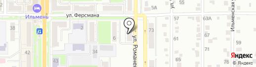 УниКом на карте Миасса