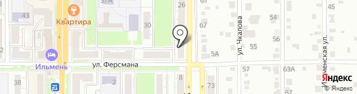 Адвокат Колесников И.В. на карте Миасса
