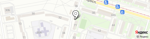 Екатерина на карте Нижнего Тагила