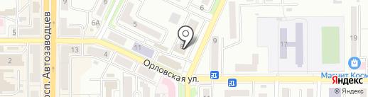 Магазин приправ и сухофруктов на карте Миасса