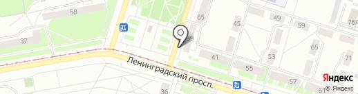 Нотариус Сарикова С.В. на карте Нижнего Тагила
