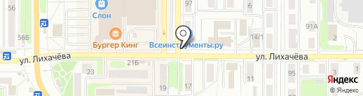 Магазин автозапчастей для УАЗ на карте Миасса